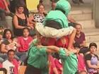 O tradicional - e curioso - torneio espanhol de torres humanas