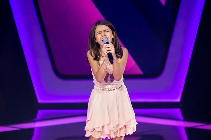 Larissa Carvalho é participante do The Voice Kids (Foto: Isabella Pinheiro)