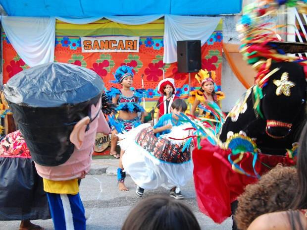 O ''Pau & Corda do Carimbó'', em sua quarta edição, é realizado no bairro da Pedreira. (Foto: Divulgação/SANCARI)