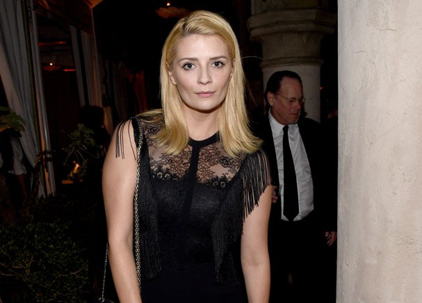 Mischa Barton num evento na semana passada em Los Angeles (Foto: Getty Images)