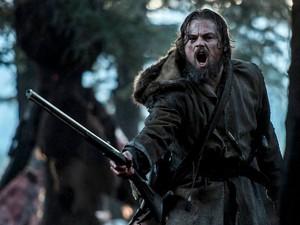 Leonardo DiCaprio em 'O Regresso'