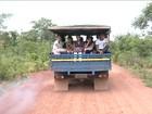 Alunos são levados para a escola em 'paus de arara' no Maranhão