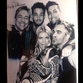 Fergie em chá de bebê do filho com amigos (Foto: Instagram/ Reprodução)