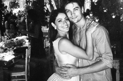 Carol Castro e o marido, Raphael Sander (Foto: Reprodução)