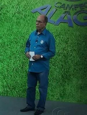 Waldemir Rodrigues, comentarista da TV Gazeta (Foto: Reprodução/ Facebook)