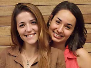 TAGUATINGA: Katharyne Castro tem 18 anos e faz faculdade de recursos humanos. Jasmim Teixeira é estudante de agronomia. (Foto: TV Globo/reprodução)