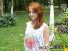 Cabeleira de atitude! Bruna Griphao ensina como cuidar dos cabelos vermelhos