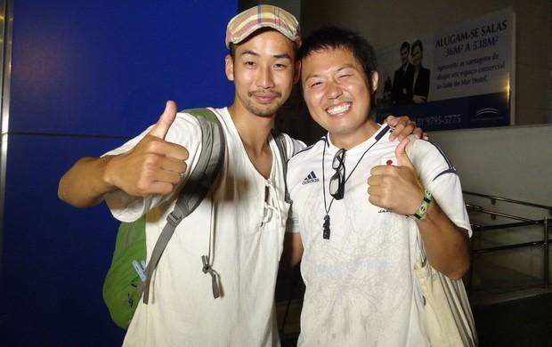 torcedores japoneses (Foto: Franco Benites)
