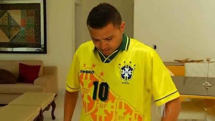 Souza - ex-jogador selção brasileira (Foto: Reprodução/Inter TV Cabugi)