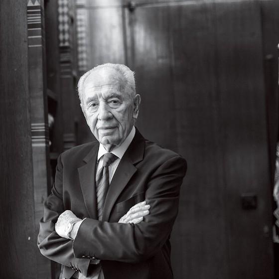 Shimon Peres  (Foto: Lynsey Addario/Reportage/ Getty Image)