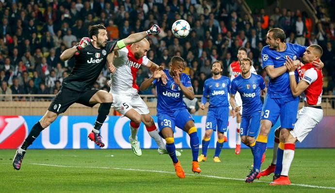 Buffon Monaco Juventus (Foto: Reuters)