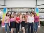 Funcionários da Rede Vanguarda fazem ação no Outubro Rosa