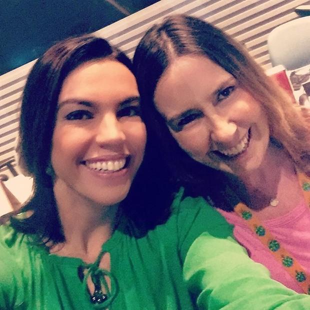 Ana Paula Araújo e Susana Naspolini (Foto: Reprodução/Instagram)