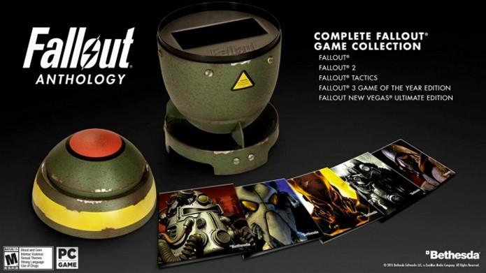 Fallout Anthology vem com todos os jogos da série no PC (Foto: Divulgação)