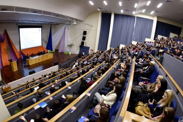 Intercom Sul 2013 aconteceu na Universidade de Santa Cruz do Sul (Foto: Franco Rodrigues)