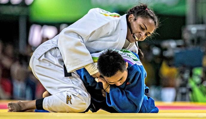 Érika Miranda judô (Foto: Marcio Rodrigues/MPIX/CBJ)