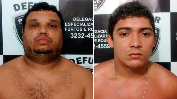 Cleyton Medeiros da Cunha, de 37 anos, e Júnior Ferreira de Moura, de 19 anos, também foram detidos (Foto: Divulgação/Polícia Civil do RN)