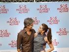 Famosos prestigiam Gianecchini e Giovanna Antonelli no cinema
