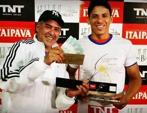 Pablo Oliveira, campeão da 1ª classe da 4ª etapa do Circuito Acreano de Tênis (Foto: Divulgação/Fact)