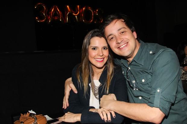Rafael Corteze a namorada (Foto: Manuela Scarpa/Brazil News)