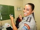 Major fala do desafio de ser mulher à frente de batalhão da PM em Alagoas