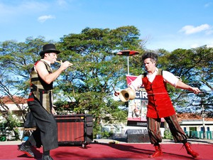 As oficinas são voltadas para artistas circenses, arte educadores, professores e estudantes de circo. (Foto: Divulgação)