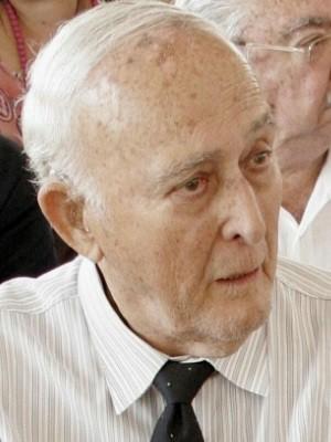 Ex-governador de Goiás Mauro Borges está internado, em Goiânia, Goiás (Foto: Diomício Gomes/O Popular)