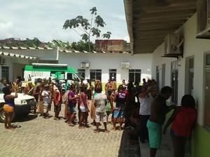 Grupo pede melhorias na saúde indígena  (Foto:  José Sival Teixeira de Magalhães)