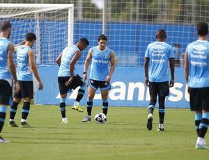 Treino do Grêmio no CT Luiz Carvalho