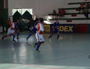 Alecrim representou o RN na Liga Nordeste de Futsal (Foto: Divulgação/CBFS)