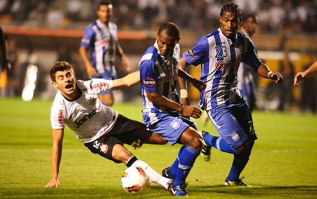 Corinthians x Emelec, Alex (Foto: Marcos Ribolli / Globoesporte.com)