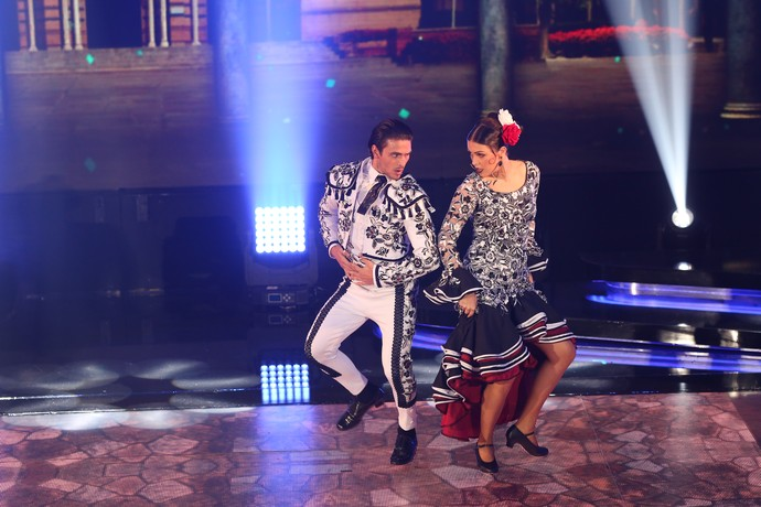 Conexão entre a dupla foi elogiada pelos jurados (Foto: Carol Caminha/Gshow)