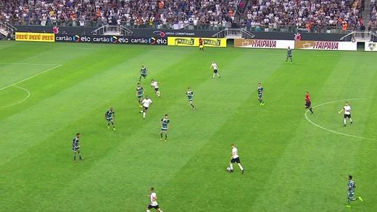 Análise: Corinthians cria muito, mas peca na pontaria contra Luverdense