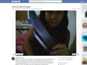 Andrea Texeira 3 (Foto: Reprodução/Facebook)