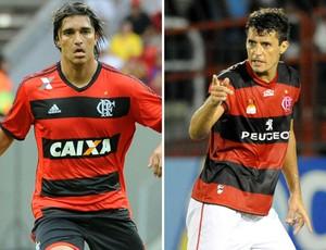 montagem Marcelo Moreno e Gonzalez (Foto: Globoesporte.com)