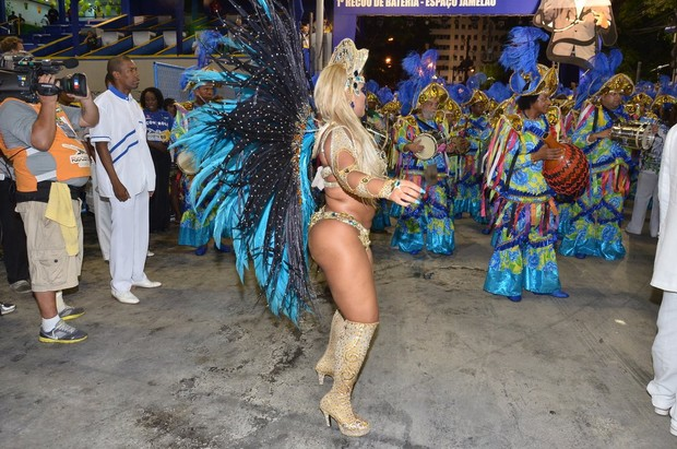 Mulher Filé no Rio (Foto: Roberto Teixeira / EGO )