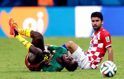 Eduardo da Silva Croácia x Camarões Arena Amazônia (Foto: AP)
