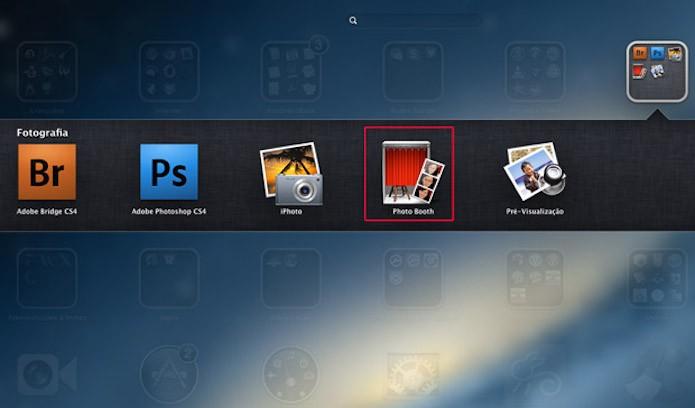 Photo Booth: altere a foto de perfil nas redes sociais vinculadas ao Mac (Foto: Reprodução/Marvin Costa)
