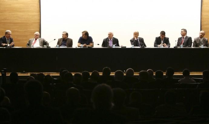 Representantes de clubes se encontram com presidente da CBF (Foto: Divulgação/CBF)