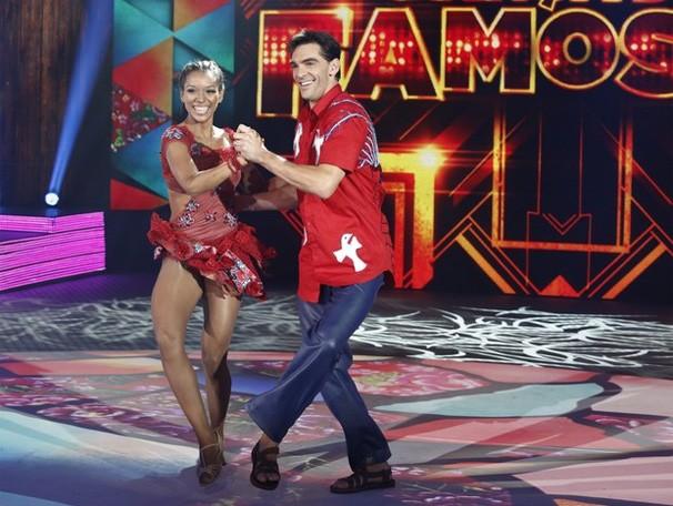 Giba Dança dos Famosos Forró (Foto: Fábio Rocha/TV Globo)