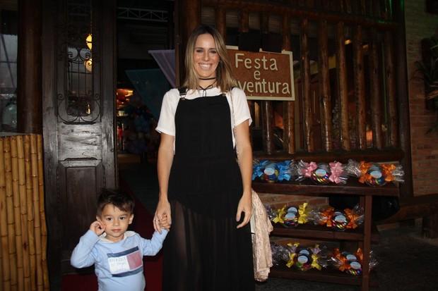 Fernanda Pontes e Malu (Foto: Rogerio Fidalgo/AgNews)