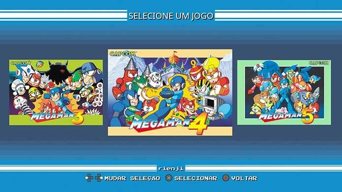 Mega Man Legacy reúne seis games clássicos da Capcom (Foto: Reprodução/Felipe Vinha)