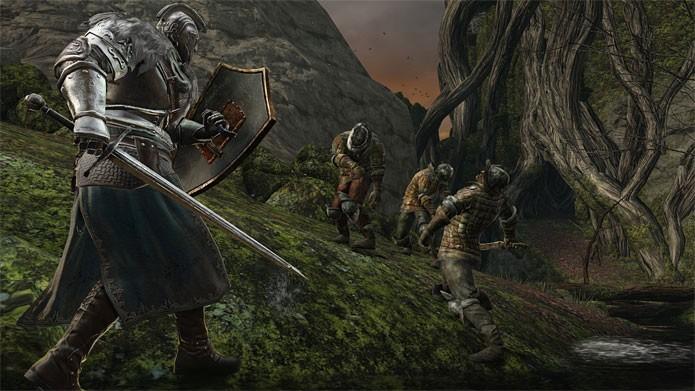 Dark Souls 2 em promoção na Nuuvem (Foto: Divulgação)