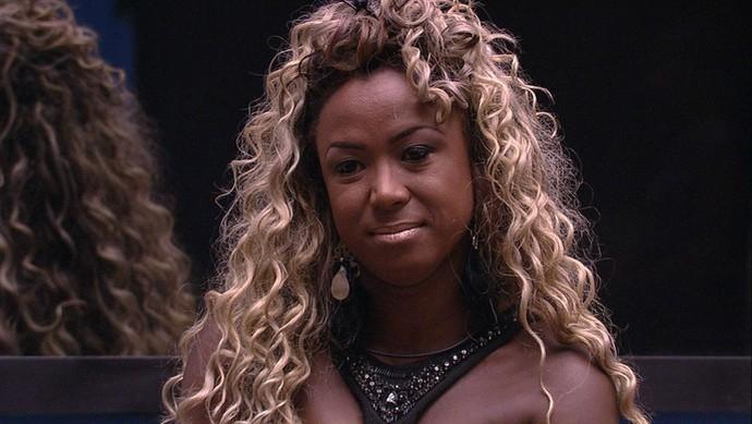 Adélia: mãe coruja assumida (Foto: TV Globo)