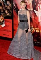 Jennifer Lawrence dá show de estilo nas pré-estreias de 'Jogos Vorazes - Em chamas'