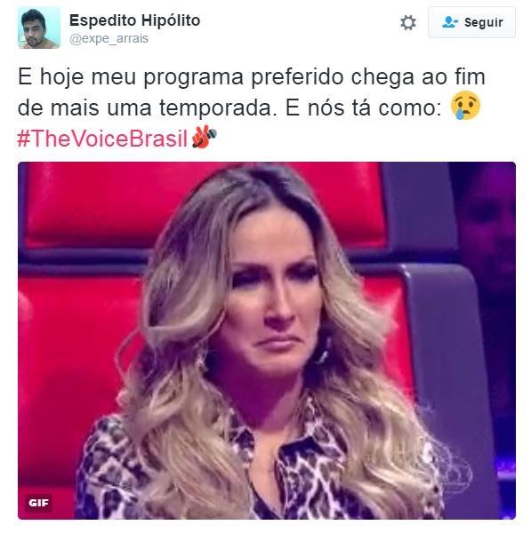 Memes de The Voice Brasil (Foto: Reprodução/Twitter)