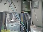 Ladrões explodem caixas eletrônicos em distrito de Santa Helena, no Paraná