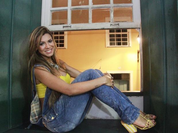 Vina Calmon em show em Salvador, na Bahia (Foto: Edgar de Souza/ Divulgação)