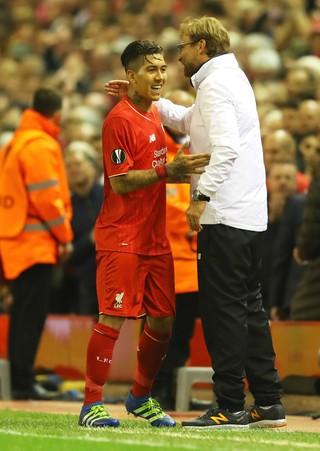 Firmino Klopp Liverpool Villarreal (Foto: Getty Images)