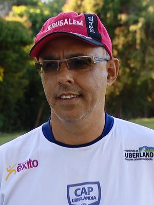 Éder Bastos, treinador CAP Uberlândia, Atlético Uberlândia (Foto: Reprodução/TV Integração)